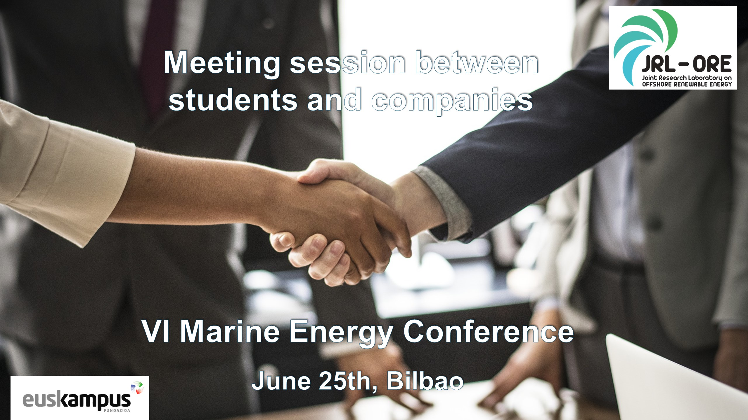 VI Marine Energy Conference – Meeting session between students and companies