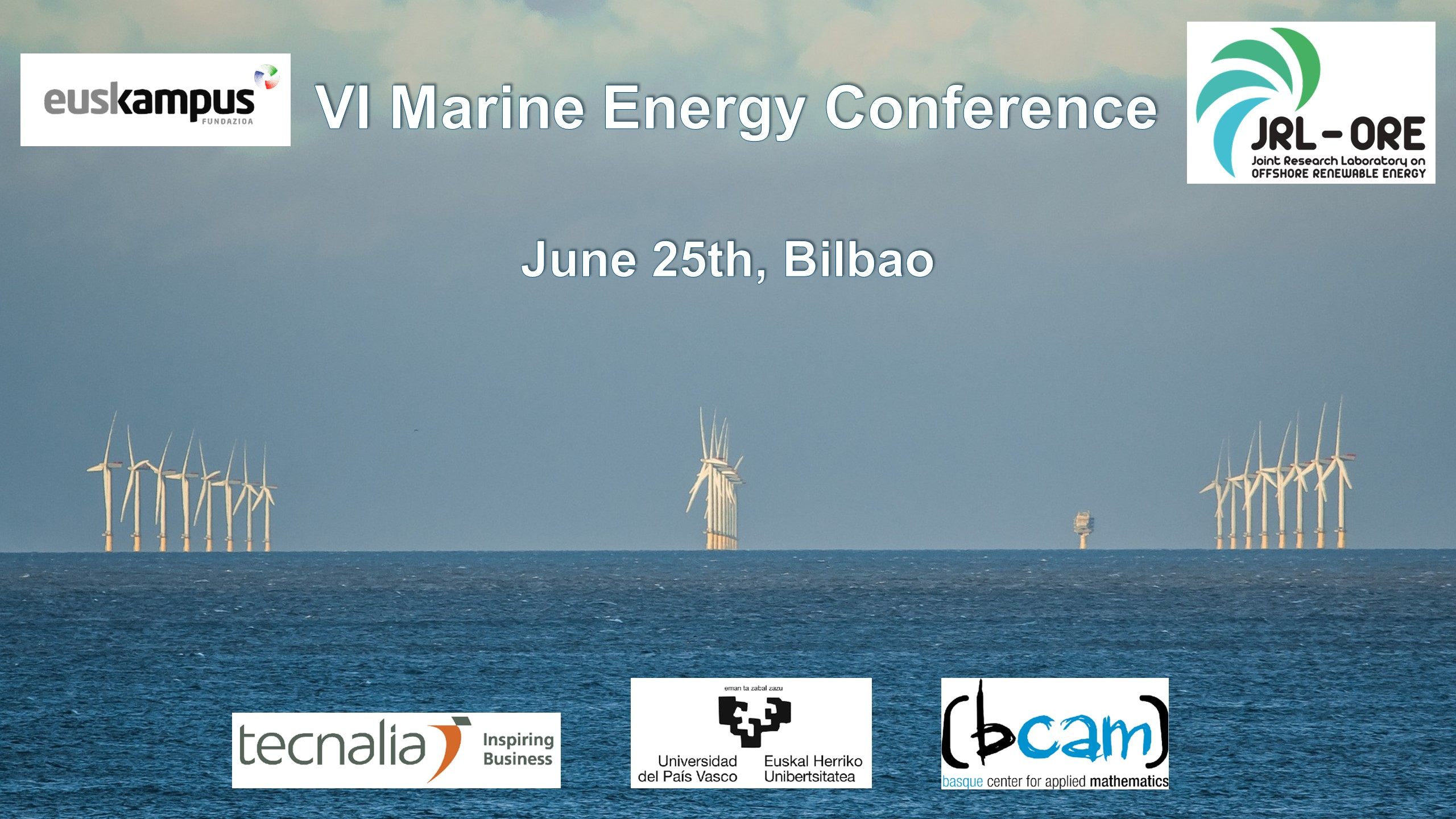 The VI Marine Energy Conference will be held on June 25th with new contents